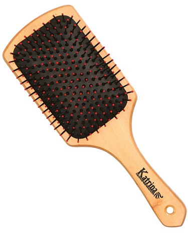 RECTANGULAR HAIR BRUSH WITH PLASTIC HEADS – GUMBO